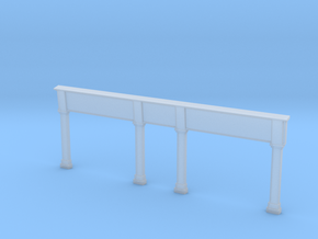00-02-01 Shop Front Surround Type 1 in Smooth Fine Detail Plastic