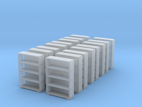Bookshelf (x16) 1/220 in Smooth Fine Detail Plastic