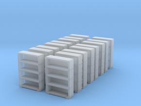 Bookshelf (x16) 1/285 in Smooth Fine Detail Plastic