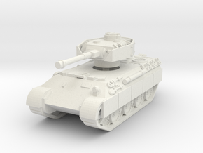 Bergepanther IV Sdkfz 179 1/87 in White Natural Versatile Plastic