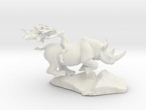 Rhino Rider 1 1/2'' in White Natural Versatile Plastic