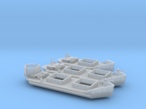 1/100th scale Set of Ladoga Tenders (wline) in Smooth Fine Detail Plastic