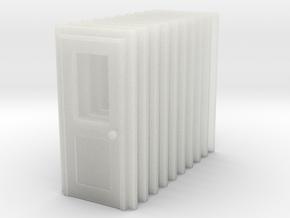 Door Type 3 X 10 RH N Scale in Smooth Fine Detail Plastic