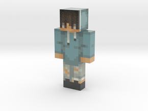 PaulTheDev | Minecraft toy in Glossy Full Color Sandstone