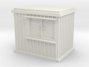 10 ft Office Container 1/48 in White Natural Versatile Plastic
