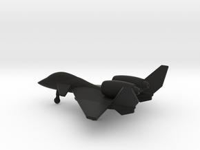 PZL-230D Skorpion in Black Natural Versatile Plastic: 1:200