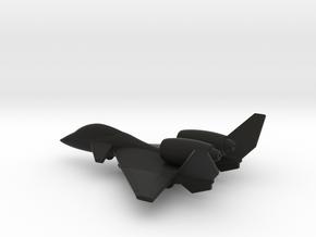 PZL-230D Skorpion (w/o landing gears) in Black Natural Versatile Plastic: 1:200