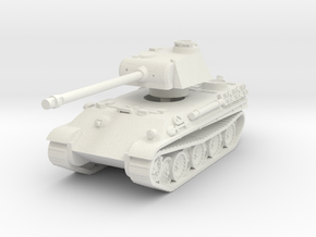 Panther G 1/72 in White Natural Versatile Plastic