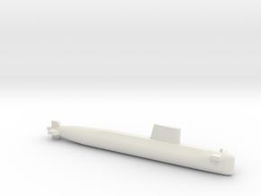 Agosta 70 SSK, Full Hull, 1/1250 in White Natural Versatile Plastic