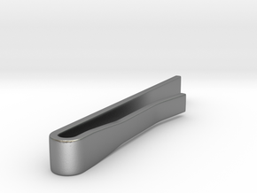 Classic Tie Bar (Metals) in Natural Silver