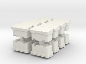 Large SOS Sand Bin (x16) 1/160 in White Natural Versatile Plastic