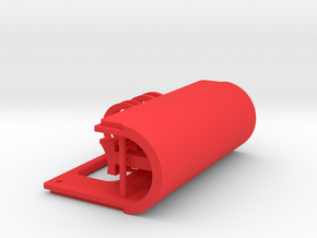 Lefty Door & Parts - Mechanical Bottom feeder in Red Processed Versatile Plastic