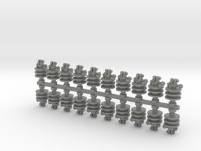 CrossArm Insulators Ver01.1:24 Scale in Gray PA12