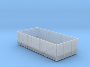 4mm - GWR Diagram 04 - 5 Plank Open in Smooth Fine Detail Plastic