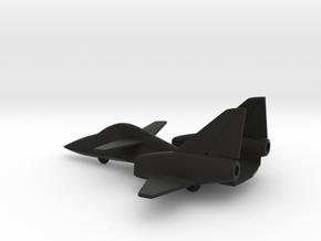 PZL-230F Skorpion (w/o landing gears) in Black Natural Versatile Plastic: 1:200