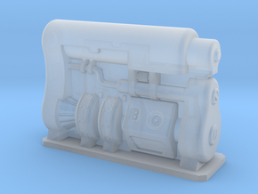 HO Scale Fusion Generator Fallout 4 in Smooth Fine Detail Plastic