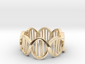 DNA Ring (Size 7) in 14K Yellow Gold