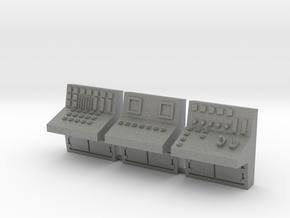 HO scale control console 3pc in Gray PA12