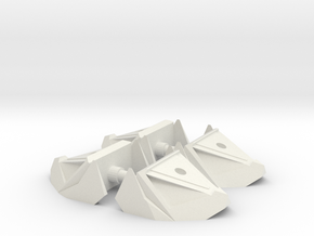 Combiner Orthia foot x4 in White Natural Versatile Plastic