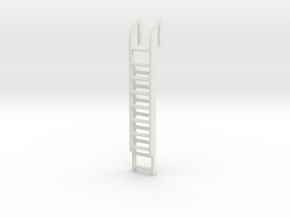 Roof Ladder 1/35 in White Natural Versatile Plastic