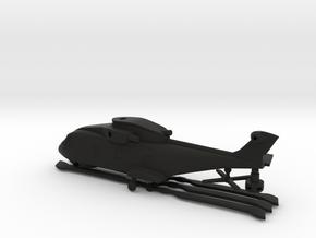 AgustaWestland EH101 Merlin in Black Natural Versatile Plastic: 6mm