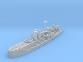 1/1250 Sachsen Class Ironclad in Smooth Fine Detail Plastic