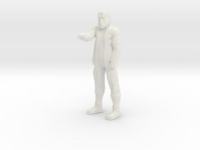 Zaius - HO in White Natural Versatile Plastic