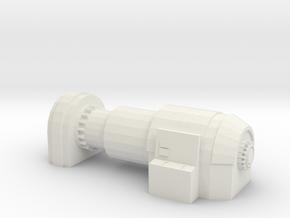 Power Generator 1/76 in White Natural Versatile Plastic