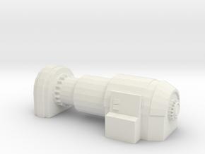Power Generator 1/72 in White Natural Versatile Plastic