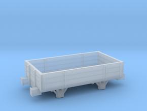 pentewan railway clay truck - dumb buffers in Smooth Fine Detail Plastic