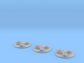 Mine counters in Smooth Fine Detail Plastic