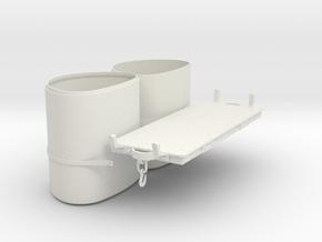 FRC10K Maenofferen Tank Wagon Kit (SM32) in White Natural Versatile Plastic