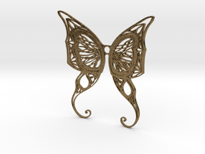 Butterfly Wings- Alternate version in Natural Bronze