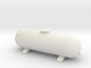 LPG Gas Tank 1/87 in White Natural Versatile Plastic