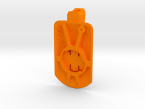 Wahoo Elemnt Roam Easton ICM Mount in Orange Processed Versatile Plastic