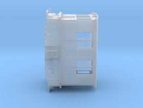 HO Standard Gauge 23 Ton GE Boxcab Powered in Smooth Fine Detail Plastic