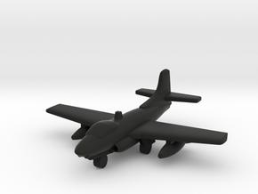Douglas F3D Skyknight in Black Natural Versatile Plastic: 1:500