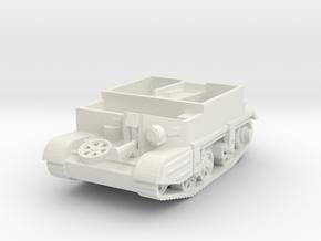 Universal Carrier MkIII 1/87 in White Natural Versatile Plastic