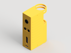 Design 4 - 18650 - Gripper Body in Yellow Processed Versatile Plastic