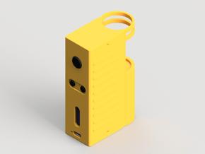 Design 4 - 18650 - Gripper Body in Yellow Processed Versatile Plastic