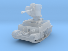 Universal Carrier Flak 38 1/285 in Smooth Fine Detail Plastic