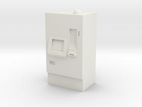 ATM Machine 1/56 in White Natural Versatile Plastic
