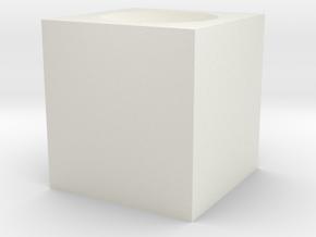 Pilot heat in White Natural Versatile Plastic