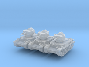 Turan I (x3) 1/285 in Smooth Fine Detail Plastic