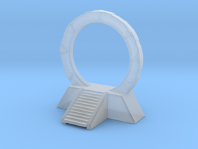 Stargate Space Portal 6mm scale miniature games  in Smooth Fine Detail Plastic