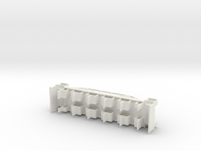 Fahrgestell H0 Beiwagen Neu in White Natural Versatile Plastic