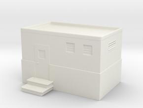 Machine Control Room 1/120 in White Natural Versatile Plastic