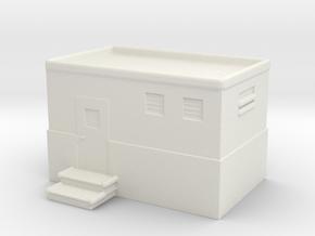 Machine Control Room 1/200 in White Natural Versatile Plastic
