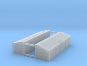 HO Scale Tool Chest (2) in Smooth Fine Detail Plastic