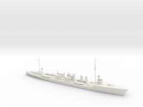1/600 Scale USS Allen (Sampson Class) DD-66 in White Natural Versatile Plastic